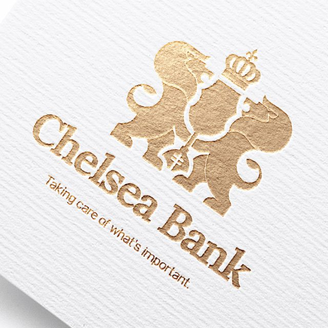 Logo Design for Chelsea Bank