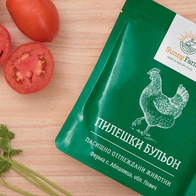 Packaging Design for Sunny Farm