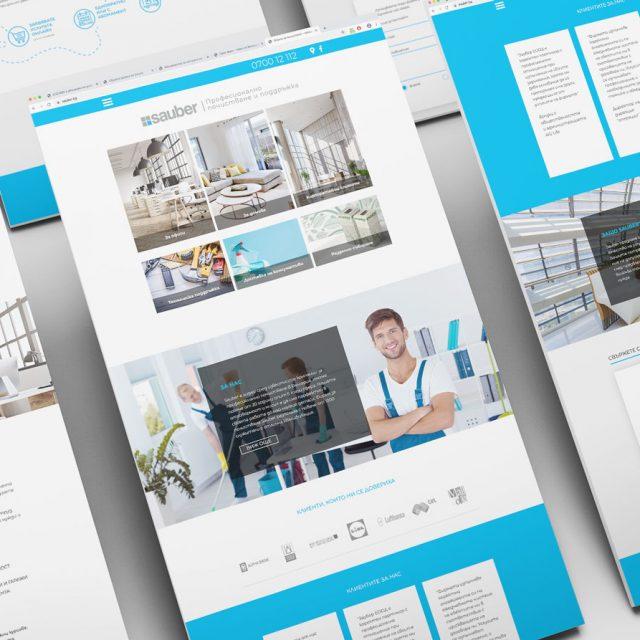 Web Design, Corporate Materials, Logo Redesign for Sauber
